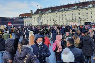 Protest u Austriji (Foto: danas.rs)